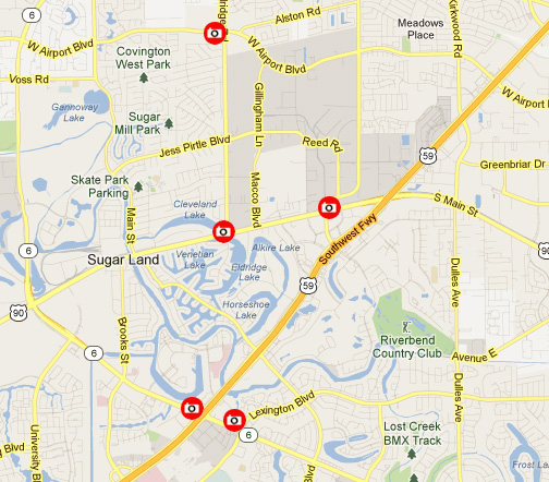 Camera Locations