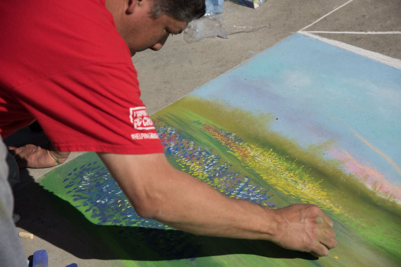 Chalk Art Competition, Cultural Kite Festival