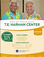 Senior Center Calendar - September
