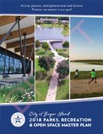 2018 Parks, Recreation & Open Space Master Plan Cover