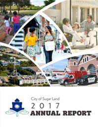 2017 City Annual Report Cover