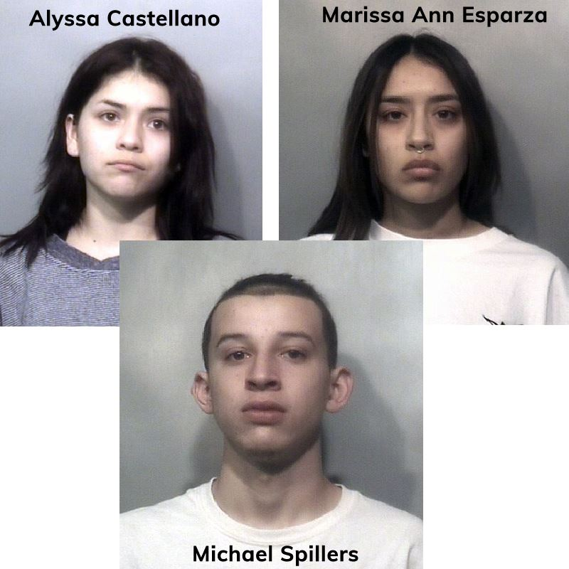 Three Arrested for Mall Shooting
