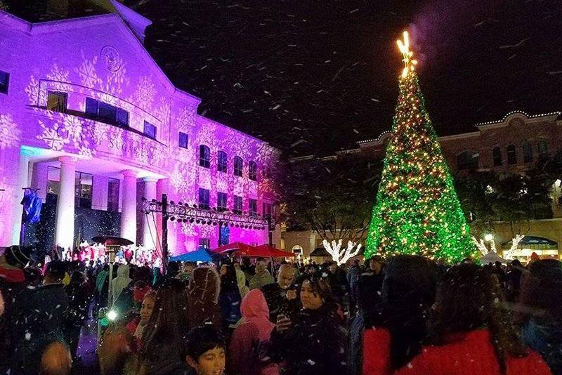 Christmas Tree Lighting.Christmas Tree Lighting Sugar Land Tx Official Website