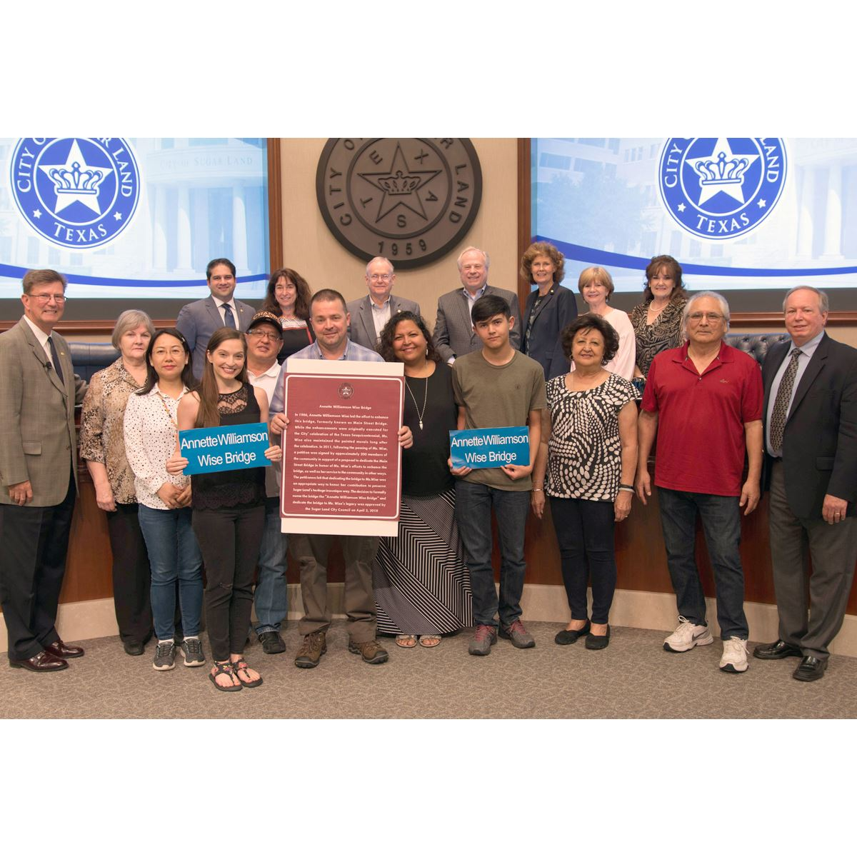 Photo - Council Recognition