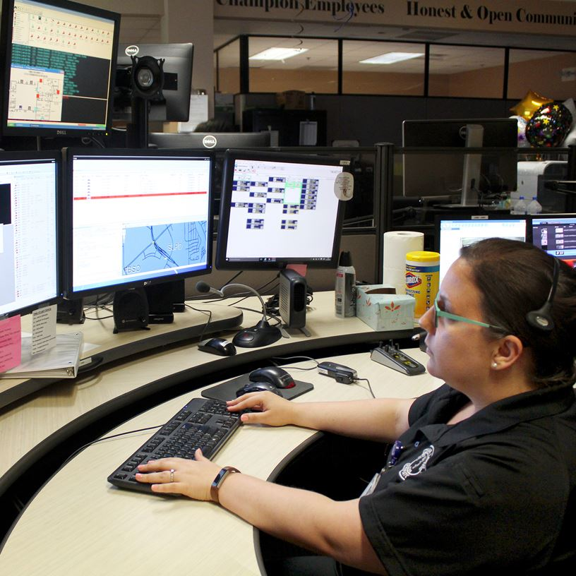 Dispatcher of the Year - April 18