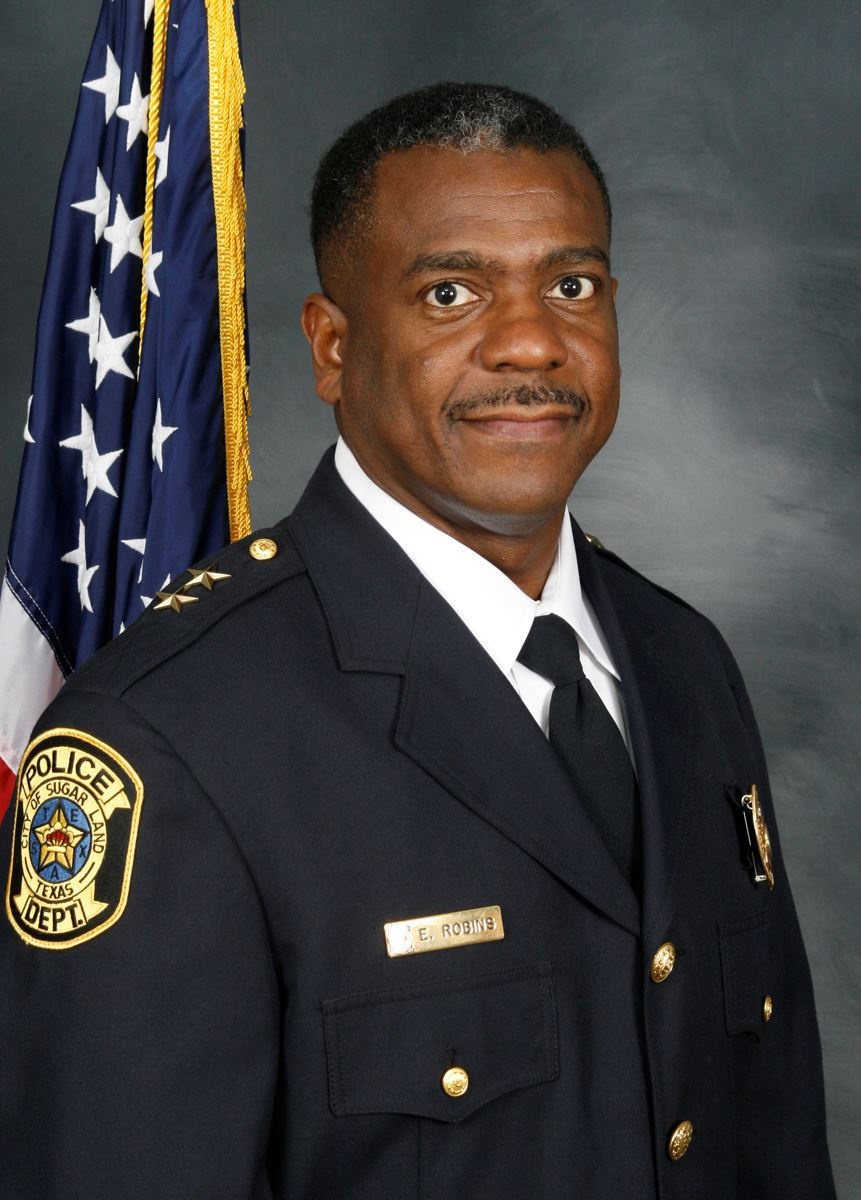 Police Chief Eric Robins