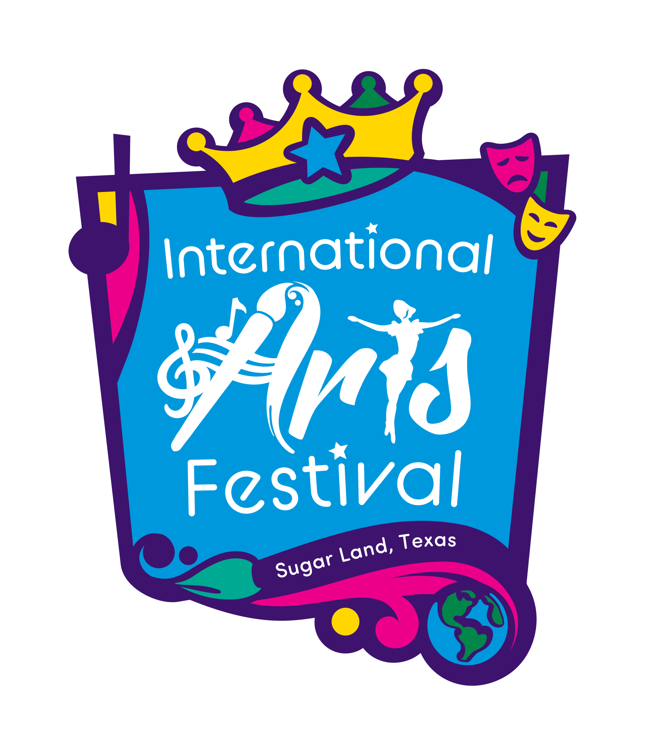 International Arts Festival Logo - Standard