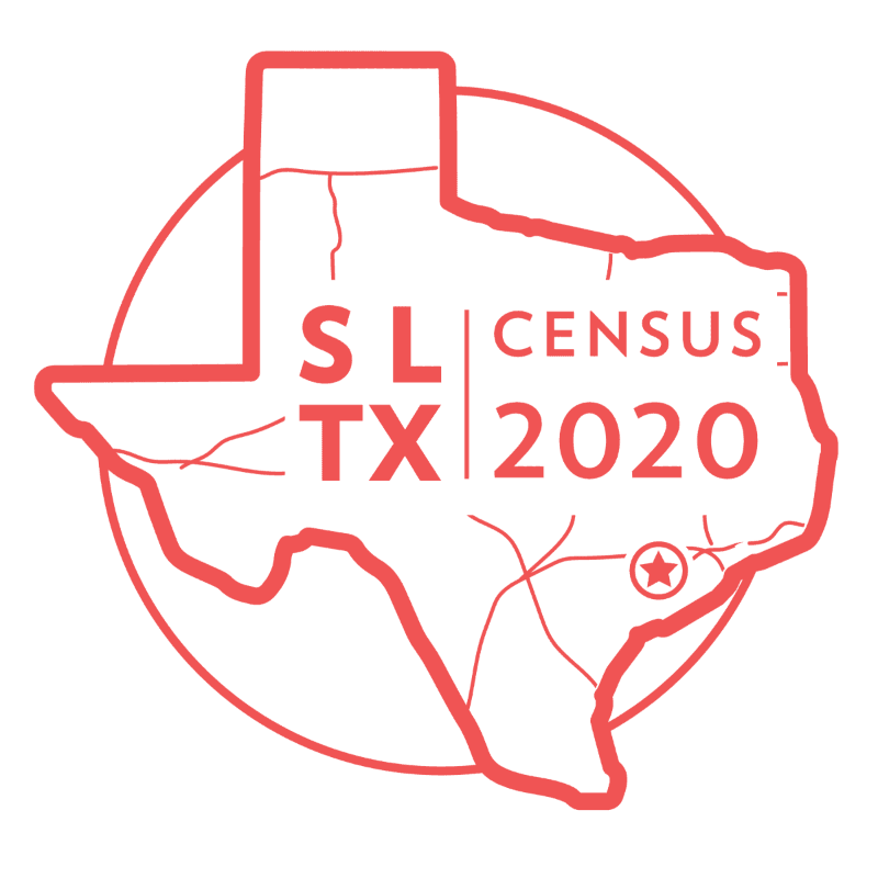 SL Census 2020 Logo - Red - 3 - Text State and Circle