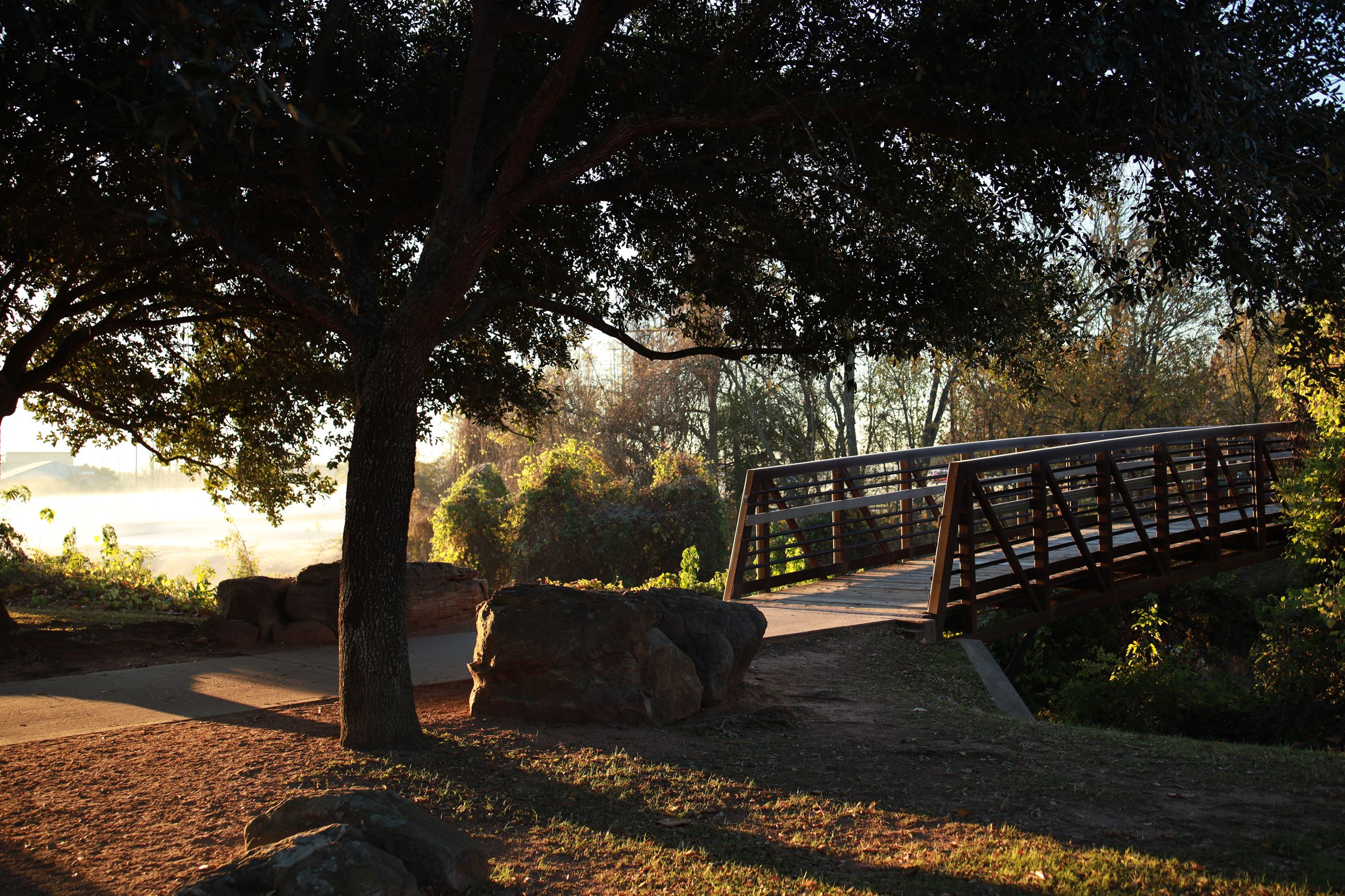 Oyster Creek Park Bridge