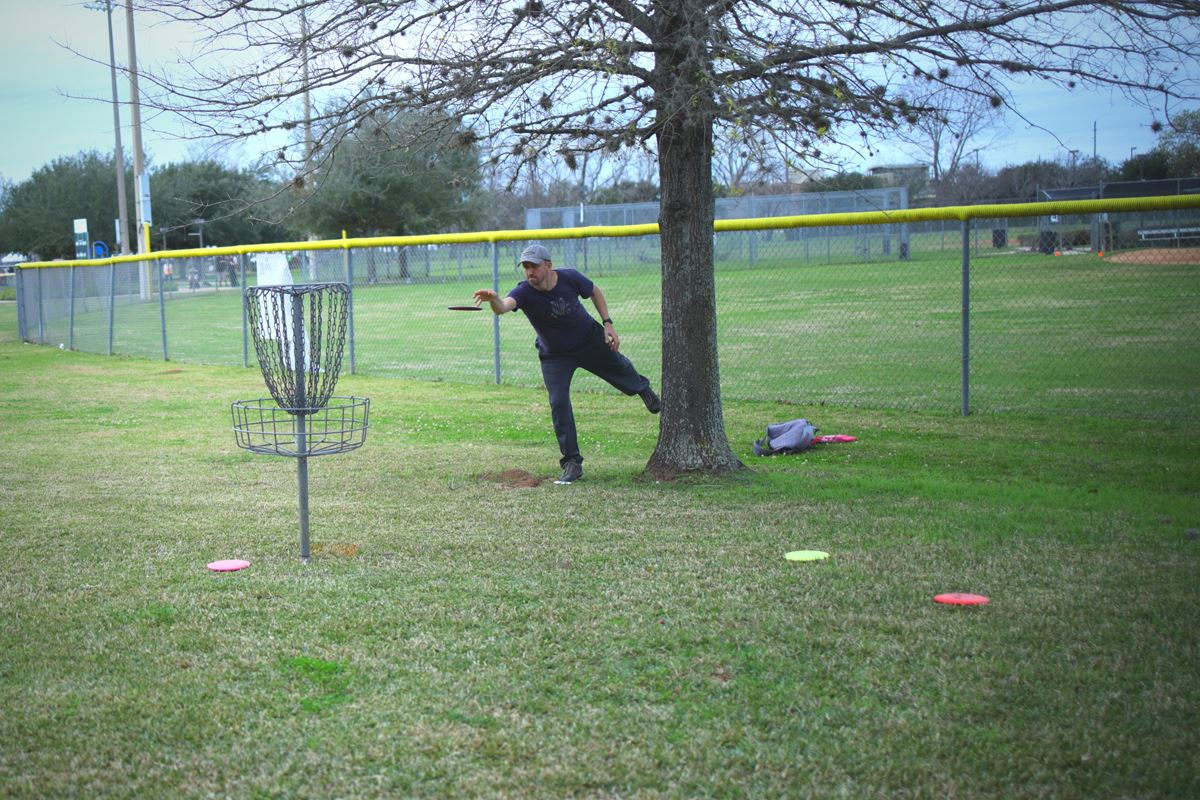 Photo - Disc golf tournament