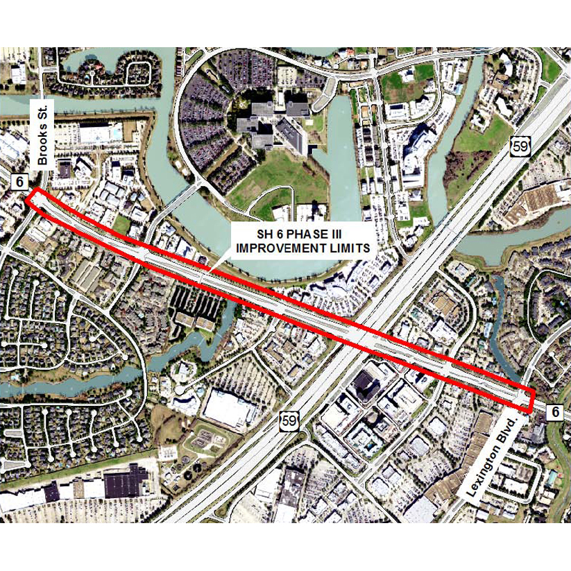 Design Contract Approved for Highway 6 Expansion