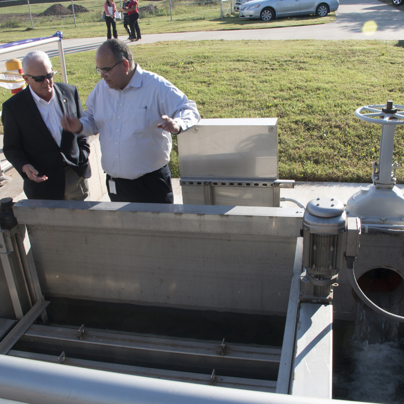 Reclaimed Water Treatment Facility Completed