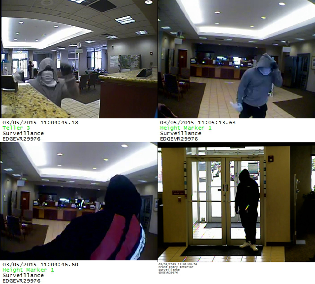 Police Searching for Bank Robbers