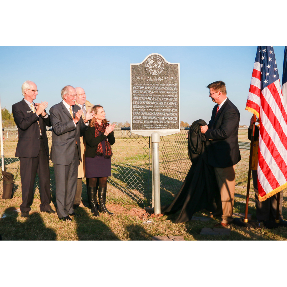 Historic Prison Cemetery Preserved, Honored