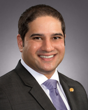 Council Member, Himesh Gandhi