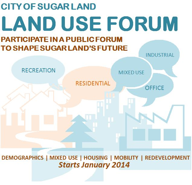 Land Use Forum Flyer