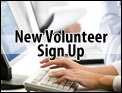 New Volunteer Sign Up
