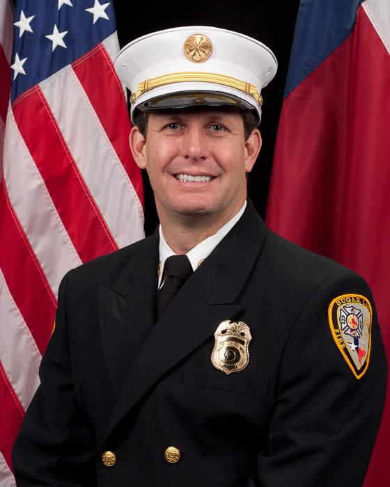 Assistant Fire Chief Jeff Krehmeier